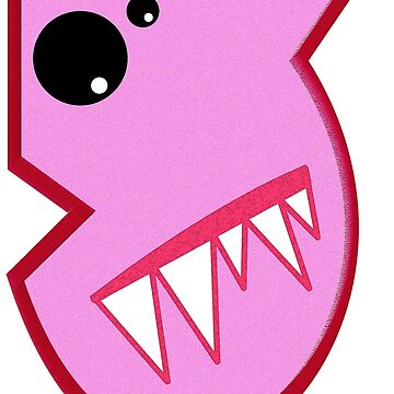 Cute Little Monster Number Five by Havocgirl
