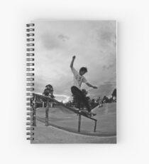 Jordan Latoa - Front Feeble Spiral Notebook