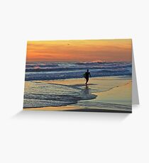Would one day be eternity ...I would spend it out at sea ... Greeting Card