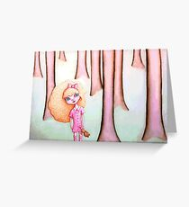 Wandering Goldilocks (Full Version) Greeting Card