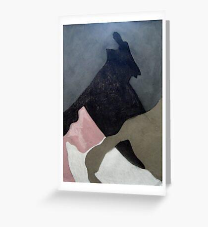 shadow-land Greeting Card