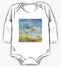 In the Half-shadow of Wild Flowers One Piece - Long Sleeve