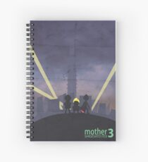 Minimalist Video Game Art: Mother 3  Spiral Notebook