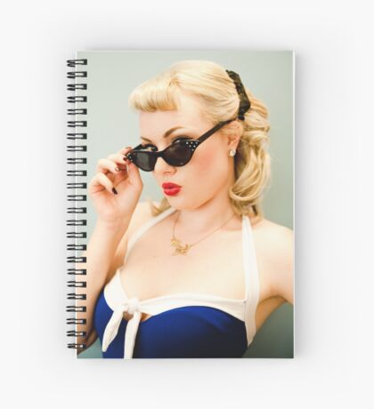 That Pinup Pout Spiral Notebook