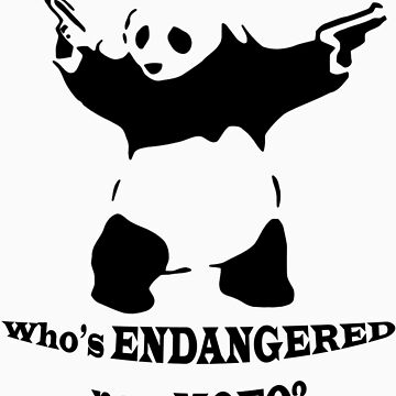 Who's endangered now MOFO?  (Large Print) by jbrancinaed