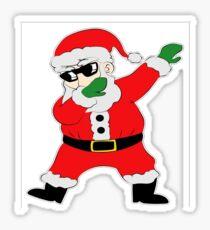 Dabbing Santa Shirt Christmas Boys Kids Men Xmas Gifts Tees Sticker