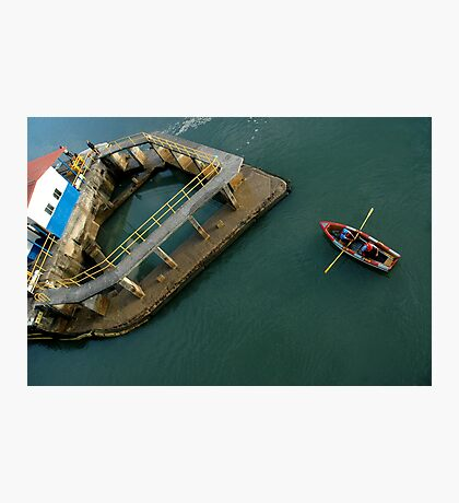 Row row row your boat Photographic Print