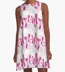 Waterwater Coral A-Line Dress