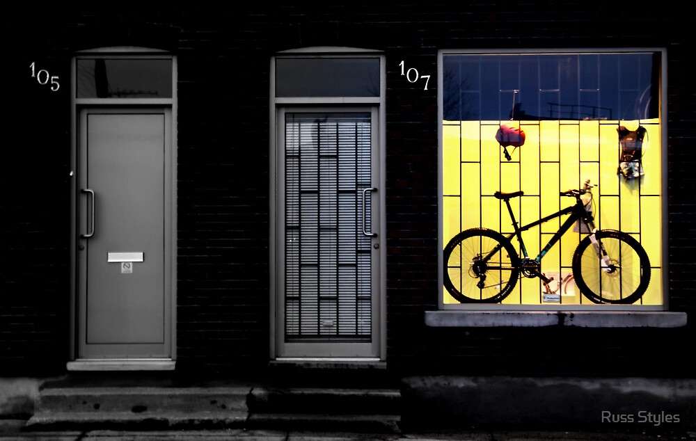 frame-framed by Russ Styles
