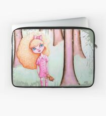 Wandering Goldilocks (Worn, Distressed, Vintage-y Version) Laptop Sleeve