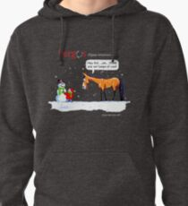 Fergus the Horse: Lumps of Coal Pullover Hoodie