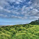 """""""Bamburgh Castle, Untamed Landscape"""" by Bradley Shawn  Rabon"""