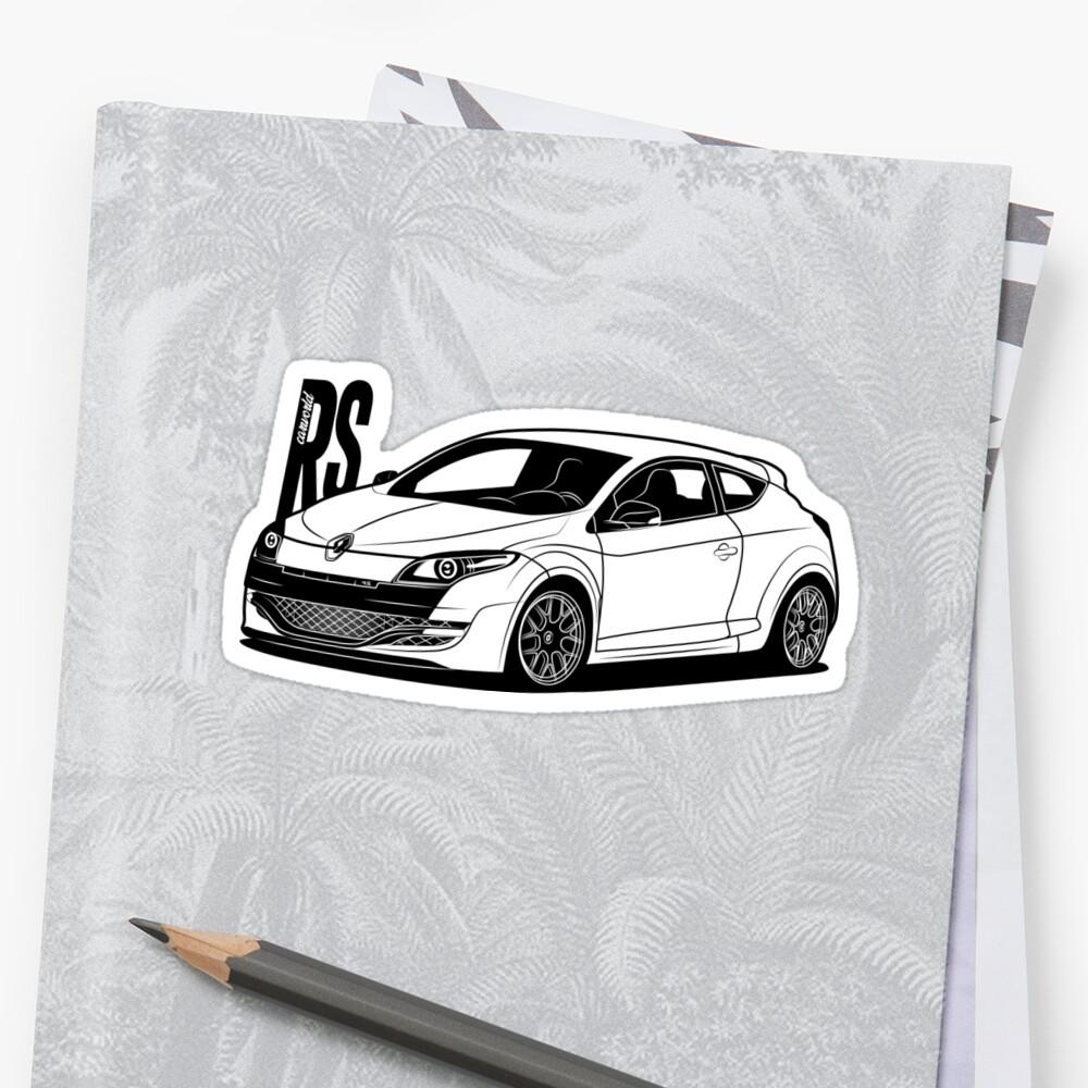 Renault megane rs mk3 best shirt design by carworld