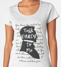 Camiseta premium de cuello ancho Regalo literario, Jane Austen, Amante del libro divertido,