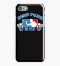 Beer Pong mvp Funny TShirt Epic T-shirt Humor Tees Cool Tee iPhone Case/Skin