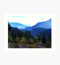 Coast Mountains,B.C. Art Print