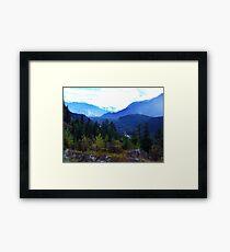Coast Mountains,B.C. Framed Print