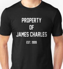 Property of James Charles Unisex T-Shirt
