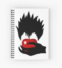 Ryuk - An apple a day keeps death away.  Spiral Notebook