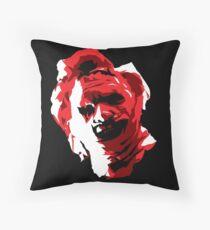 Texas Chainsaw Massacre - Vector Throw Pillow