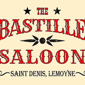 The Bastille Saloon by MikePrittie