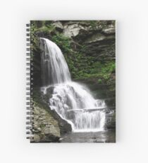 Misty Waterfall ~ Springtime Fresh Spiral Notebook