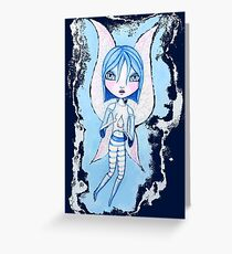 Water Fairy (Blue Version) Greeting Card