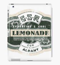 GSR Lemonade iPad Case/Skin
