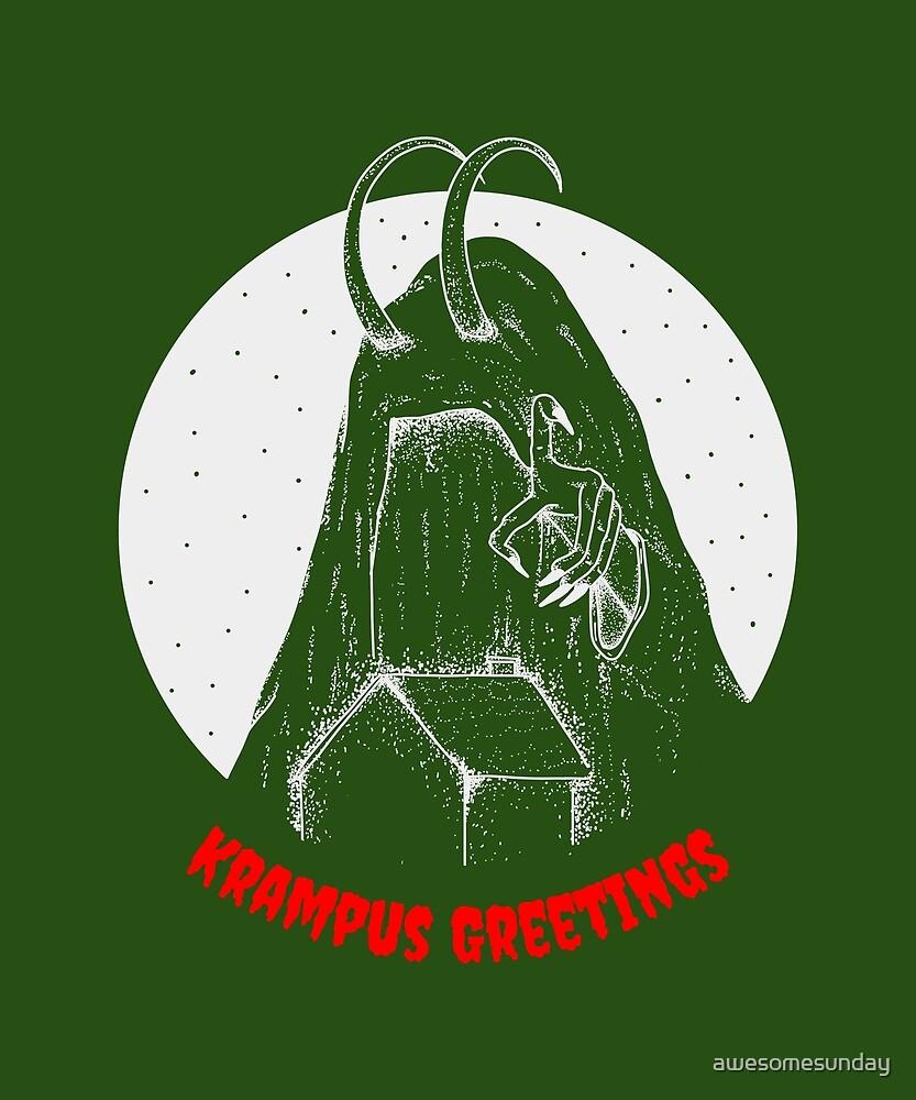 Krampus by awesomesunday