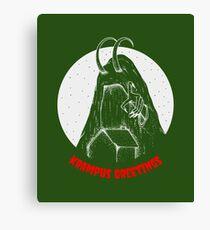 Krampus Canvas Print