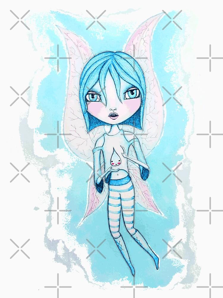 Water Fairy (Cyan Version) by LittleMissTyne