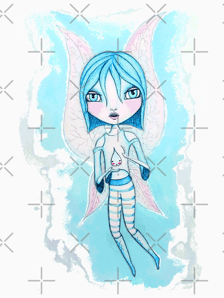 Water Fairy (Cyan Version) by LittleMissTyne