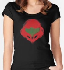 Metroid Hunter Women's Fitted Scoop T-Shirt