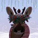Winter Reindeer by jlc2903