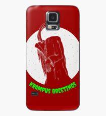 Krampus Red Case/Skin for Samsung Galaxy