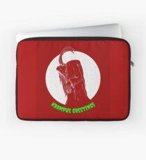 Krampus Red Laptop Sleeve