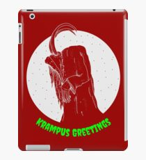 Krampus Red iPad Case/Skin
