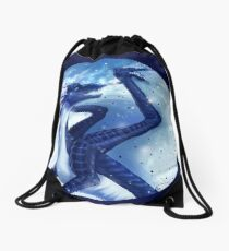Wings of Fire - Whiteout Drawstring Bag