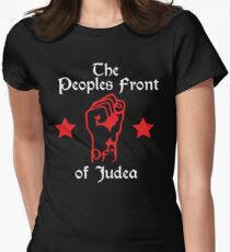 The Peoples Front of Judea Women's Fitted T-Shirt