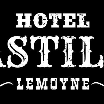 Hotel Bastille Sticker by MikePrittie