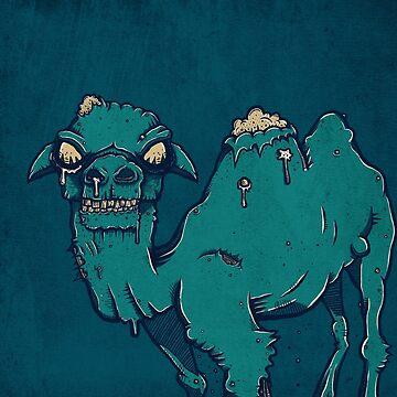 Camel Zombie by strangethingsA
