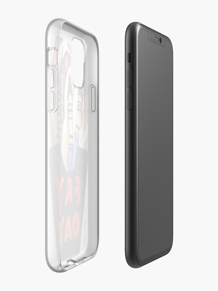 Coque iPhone «Frites à la mode», par alleriaprints
