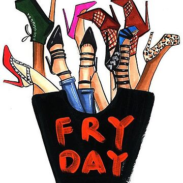 Fry Day Fashion Fries by alleriaprints