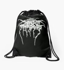 Darkthrone logo Drawstring Bag
