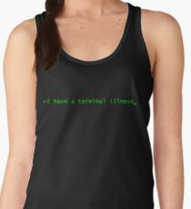 Terminal Illness Command Line Women's Tank Top