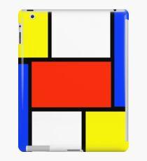 Mondrian Art Style iPad Case/Skin