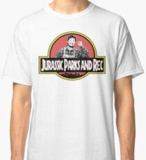 Camiseta clásica Parque Jurásico y Rec