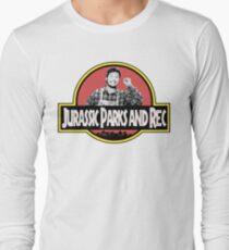 Camiseta de manga larga Parque Jurásico y Rec