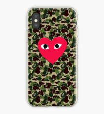 Love On Green iPhone Case