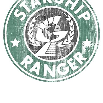 Starship Ranger: Washed starbucks style by Piwoly